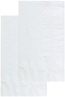 Dinner Napkin, White, 4000/Carton